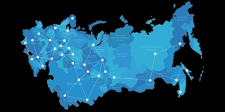 Доставка шаровых кранов по России и СНГ