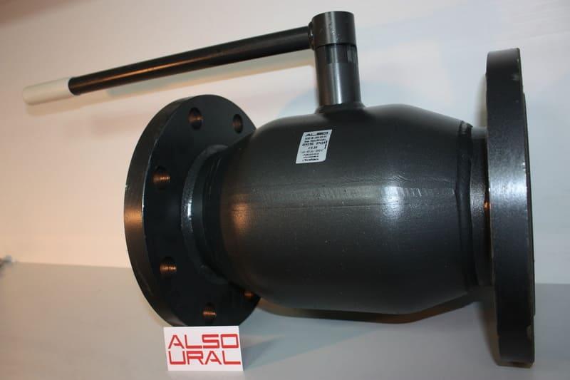 Кран шаровой фланцевый КШ.Ф.150.25-01 Ду150 Ру25