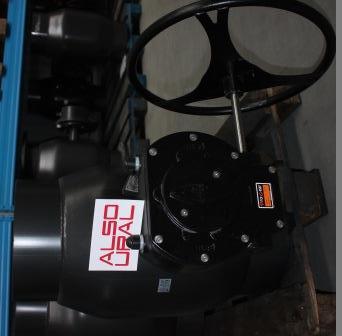 Кран шаровой приварной КШ.П.350.25-01 Ду350 Ру25